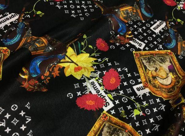 Exclusive Designer Fashion Week Silk