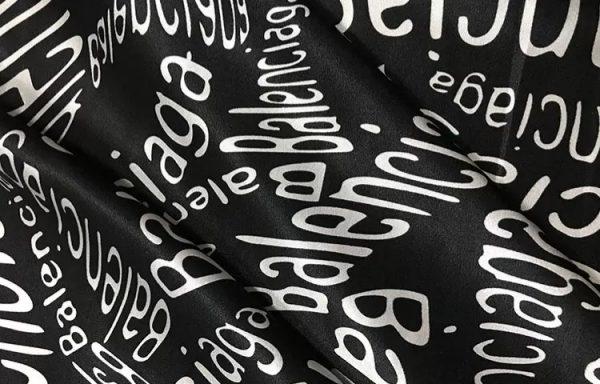 Balenciaga Silk Designer Fabric