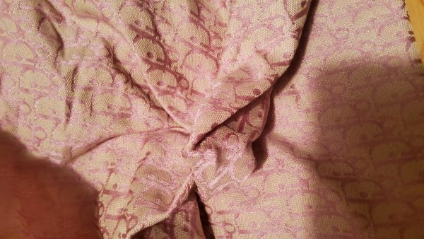 20200713 233215 Dior Fabric soft cotton jacquard brocade/Spring-Summer collection thin Dior fabric 5