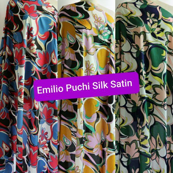 Emilio Pucci Silk Satin