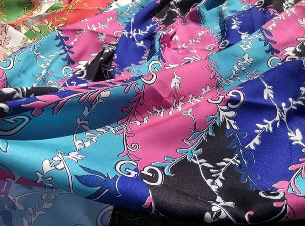 Gucci twill Chiffon Fabric
