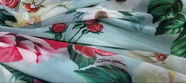 DG Gorgeous Silk Chiffon Fabric