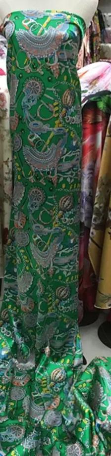 Hermes Silk Stretch Fabric