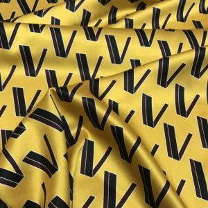 New Collection Valentino Silk Fabric