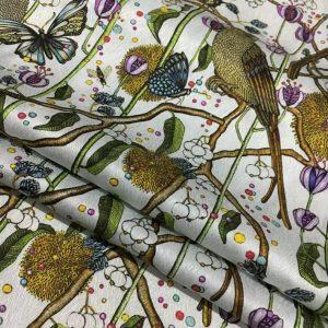 Balenciaga Silk Fabric