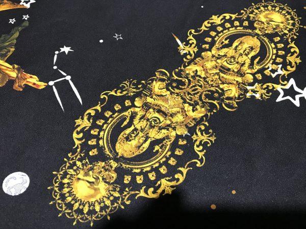 Gucci Silk Horse print Budha Pattern Inkjet