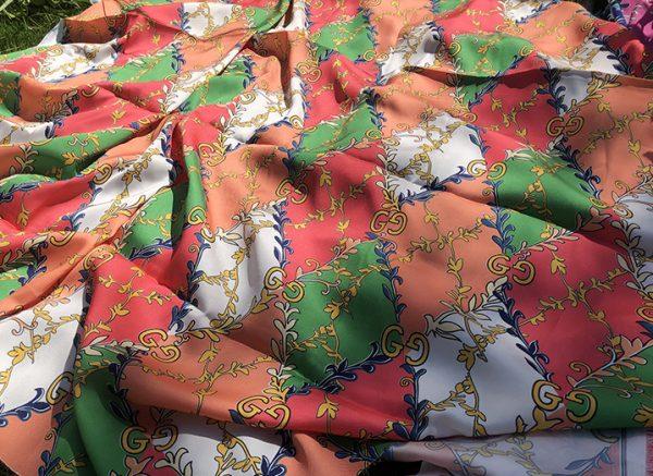 Gucci Silk Crepe Fabric