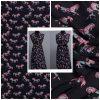 Hermes Silk Fabric Horse print