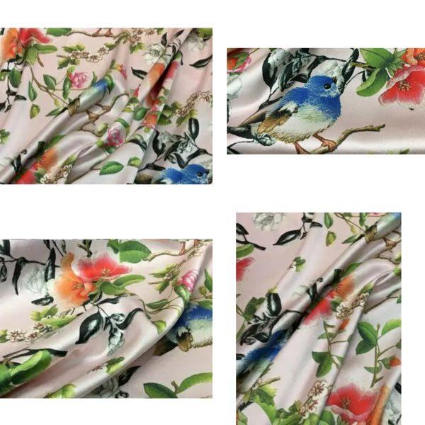 Italian Designer Heavy Silk Gucci