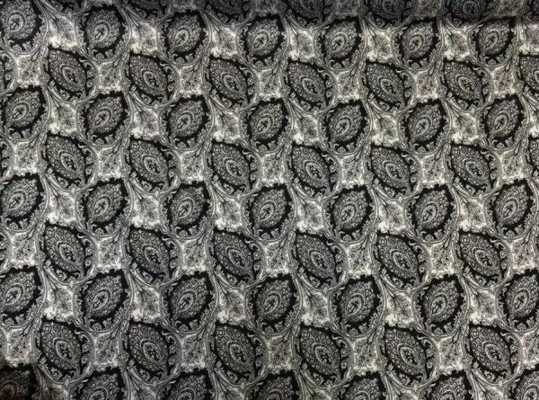 Etro Silk Stretch Paisley print fabric