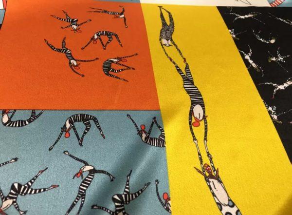 Gucci Silk fabric Limited edition