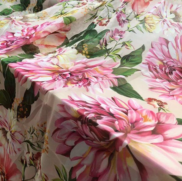 Dolce Gabbana chiffon fabric