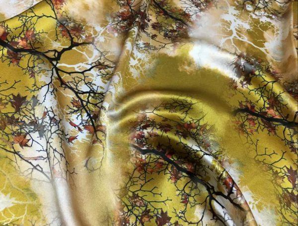 20200809 021550 Emanuel Ungaro Heavy Silk Fabric/New Collection 2021 Fashion week Ungaro Silk/Digital painting Italian silk fabric 13