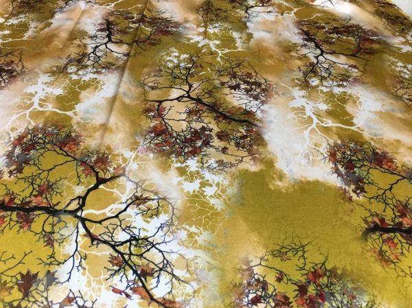 20200809 021609 Emanuel Ungaro Heavy Silk Fabric/New Collection 2021 Fashion week Ungaro Silk/Digital painting Italian silk fabric 7