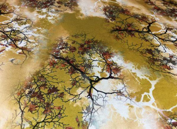 20200809 021616 Emanuel Ungaro Heavy Silk Fabric/New Collection 2021 Fashion week Ungaro Silk/Digital painting Italian silk fabric 6