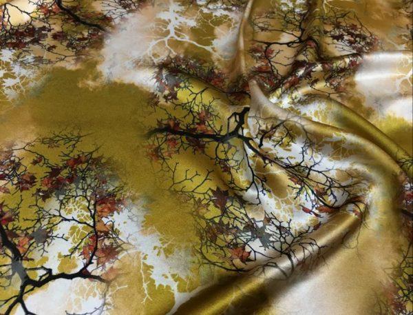 20200809 021748 Emanuel Ungaro Heavy Silk Fabric/New Collection 2021 Fashion week Ungaro Silk/Digital painting Italian silk fabric 3