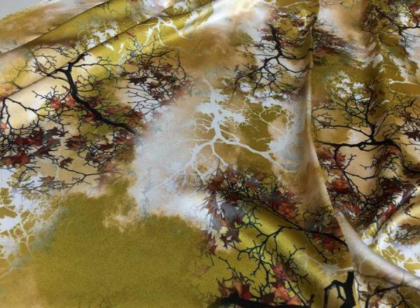20200809 021800 Emanuel Ungaro Heavy Silk Fabric/New Collection 2021 Fashion week Ungaro Silk/Digital painting Italian silk fabric 4