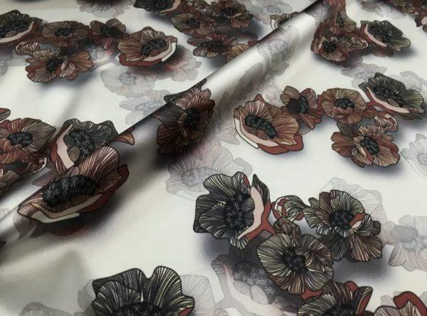 20200809 022649 Emanuel Ungaro Silk Stretch Fabric/New Collection Fashion Week Italian Designer Silk Fabric/Digital Inkjet silk 2