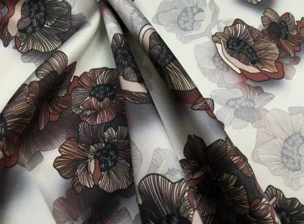 20200809 022712 Emanuel Ungaro Silk Stretch Fabric/New Collection Fashion Week Italian Designer Silk Fabric/Digital Inkjet silk 6