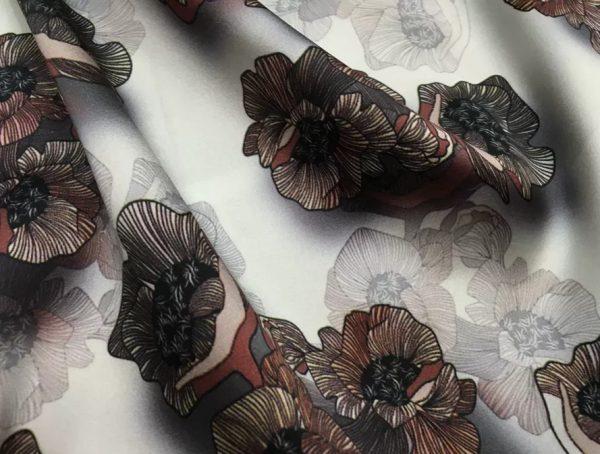 20200809 022756 Emanuel Ungaro Silk Stretch Fabric/New Collection Fashion Week Italian Designer Silk Fabric/Digital Inkjet silk 8