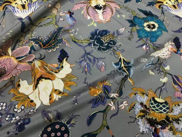 Emanuel Ungaro Silk Stretch Fabric