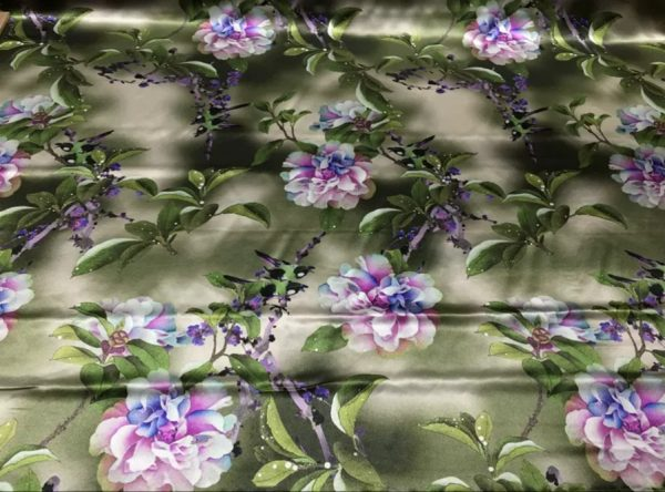 Italian Designer Limited Collection Silk