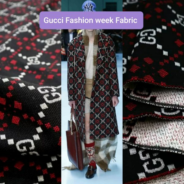 Gucci Fashion week autumn-winter Fabric