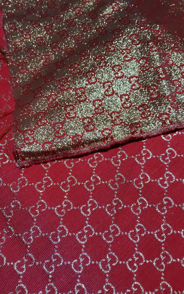 20200915 192651 scaled Gucci 2020 Fabric/Milan Fashion Show Gucci Spring/Gucci Gold yarn Fabric/Gucci blazer fabric,Gucci Suit, jacket fabric/Gucci Fabric New Collection colour #1 RED GOLD YARN 8
