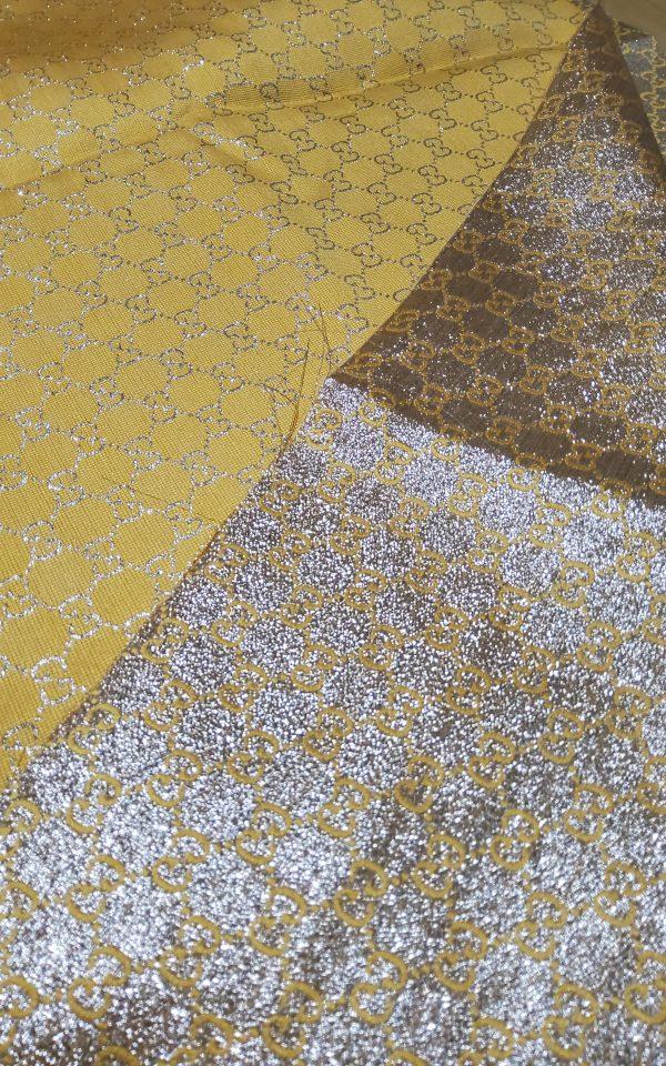 Gucci 2020 Fabric/Milan Fashion Show Gucci Spring/Gucci Gold yarn Fabric/Gucci blazer fabric,Gucci Suit,jacket fabric/Gucci Fabric New Collection colour #3 YELLOW GOLD YARN 8 ⋆ Rozitta Rapetti