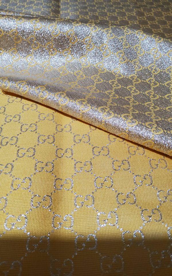 20200915 192855 scaled Gucci 2020 Fabric/Milan Fashion Show Gucci Spring/Gucci Gold yarn Fabric/Gucci blazer fabric,Gucci Suit,jacket fabric/Gucci Fabric New Collection colour #3 YELLOW GOLD YARN 9