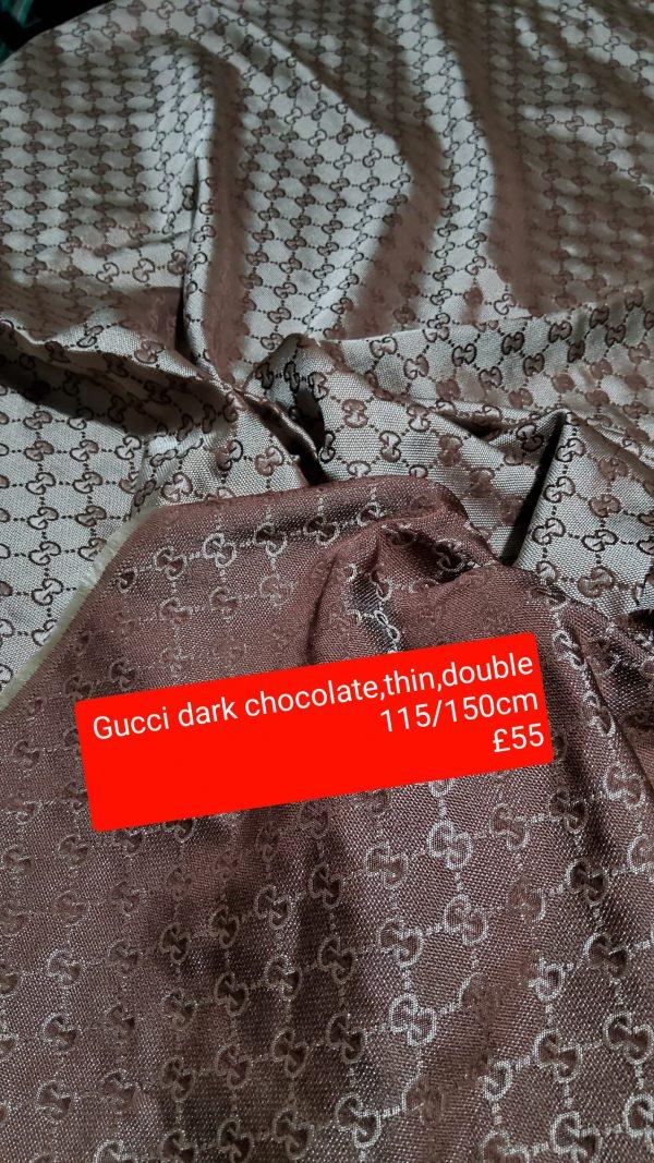Gucci Jacquard Dark Chocolate