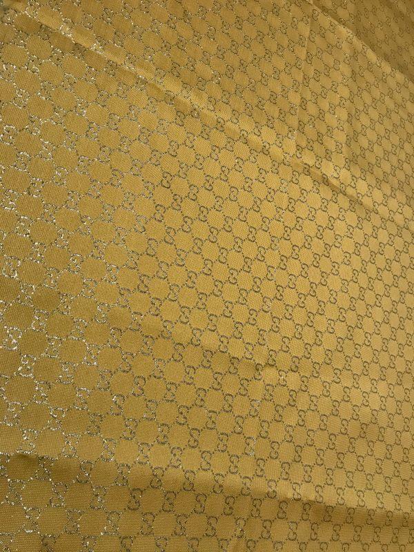 Gucci 2020 Fabric/Milan Fashion Show Gucci Spring/Gucci Gold yarn Fabric/Gucci blazer fabric,Gucci Suit,jacket fabric/Gucci Fabric New Collection colour #3 YELLOW GOLD YARN 2 ⋆ Rozitta Rapetti