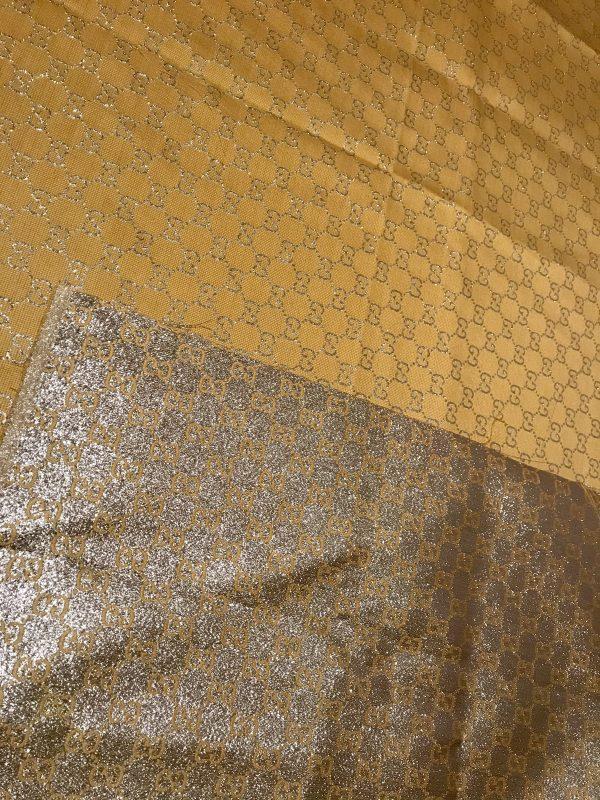 Gucci 2020 Fabric/Milan Fashion Show Gucci Spring/Gucci Gold yarn Fabric/Gucci blazer fabric,Gucci Suit,jacket fabric/Gucci Fabric New Collection colour #3 YELLOW GOLD YARN 5 ⋆ Rozitta Rapetti