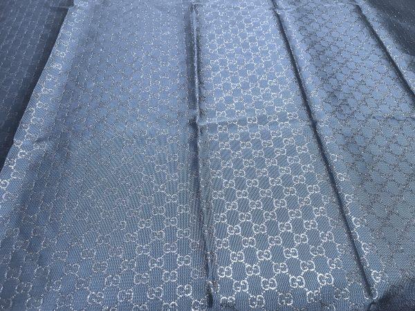 IMG 5921 scaled Gucci 2020 Fabric/Milan Fashion Show Gucci Spring/Gucci Gold yarn Fabric/Gucci blazer fabric,Gucci Suit,jacket fabric/Gucci Fabric New Collection colour #2 Royal Blue GOLD YARN 3