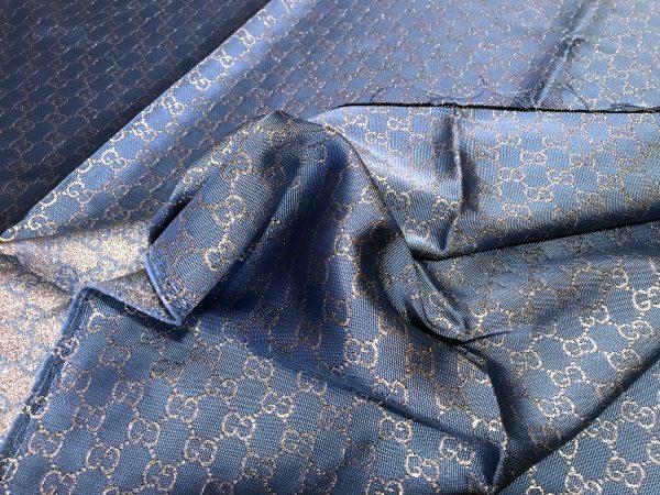 IMG 5923 scaled Gucci 2020 Fabric/Milan Fashion Show Gucci Spring/Gucci Gold yarn Fabric/Gucci blazer fabric,Gucci Suit,jacket fabric/Gucci Fabric New Collection colour #2 Royal Blue GOLD YARN 5