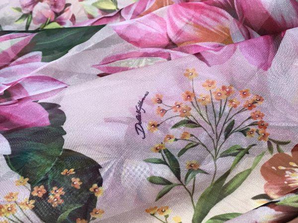 Italian chiffon fabric
