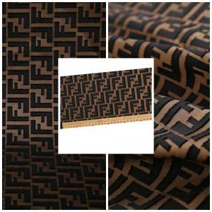 Fendi Silk Fabric/New Collection