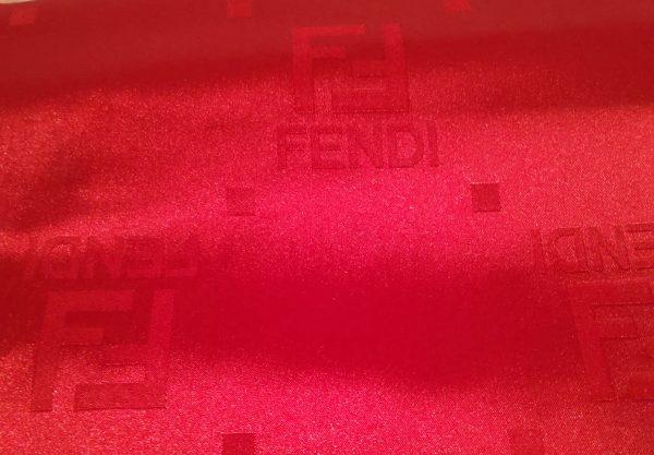 20200905 172352 scaled FENDI SILK FABRIC/New Collection Fendi 2020 Fashion/Italian Designer's Fabric/Fendi colour Red #9 1