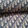Dior Oblique Fabric Classic Dark Blue
