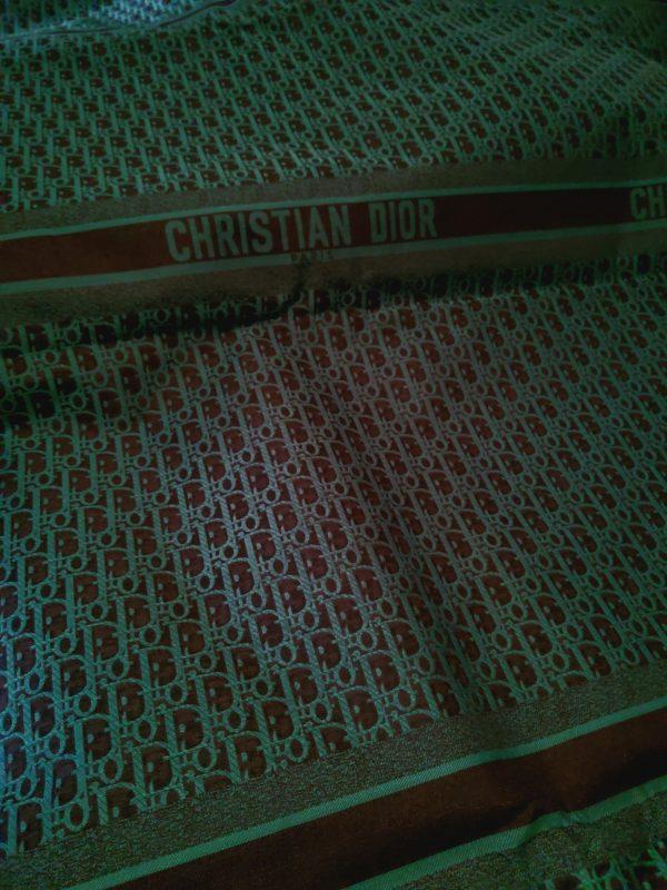 Christian Dior Oblique Green on black base