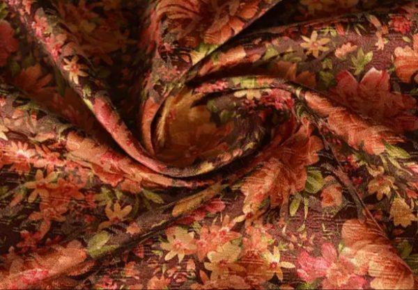 Etro silk cotton fabric