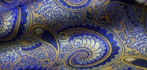 Etro fabric Gold yarn brocade