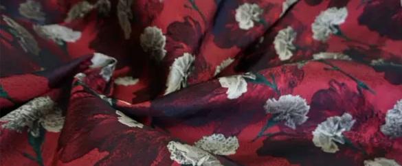20200916 030817 Italian Designer Jacquard Fabric Carnation pattern Fashion week Jacquard 2021 7