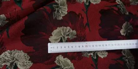 20200916 030922 Italian Designer Jacquard Fabric Carnation pattern Fashion week Jacquard 2021 4