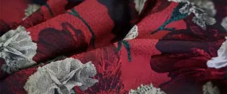 20200916 030932 Italian Designer Jacquard Fabric Carnation pattern Fashion week Jacquard 2021 5