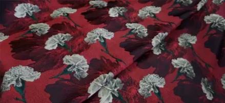 20200916 030944 Italian Designer Jacquard Fabric Carnation pattern Fashion week Jacquard 2021 6