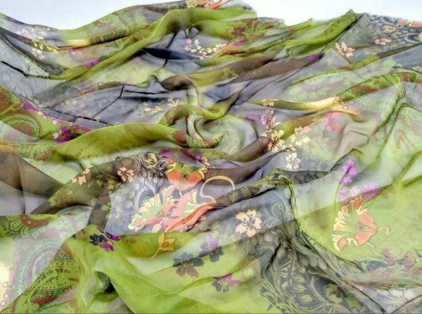Etro Silk Chiffon fabric