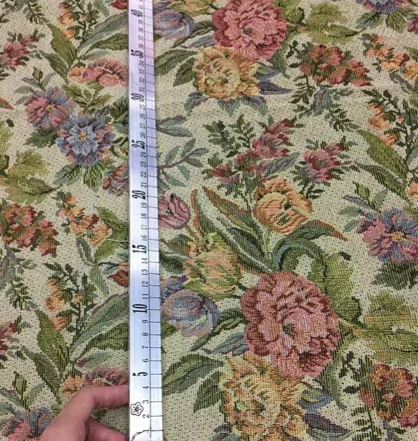 Italian Designer Woven Tapestry Floral pattern