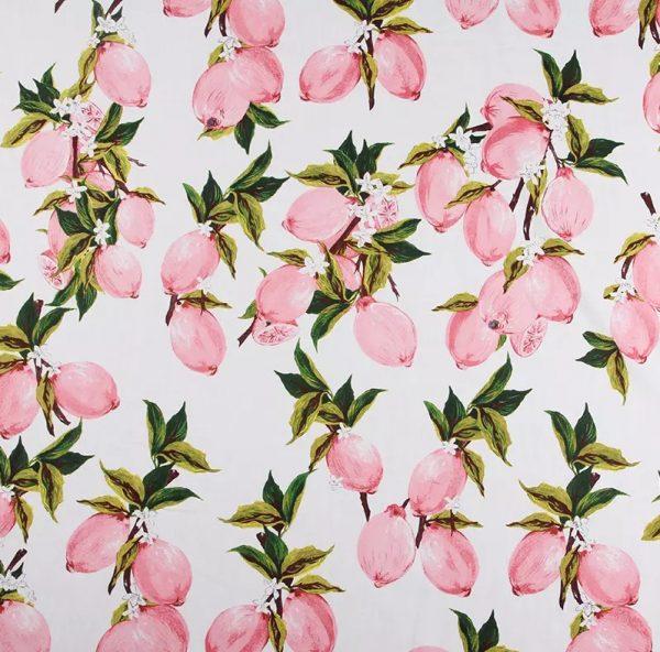 Italian Designer lemon print