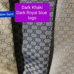 RARE Gucci Jacquard Monogram Print dark Khaki Designer Fabric/Jacket Jacquard Fabric/Jacquard Couture Fabric Various Colours Available